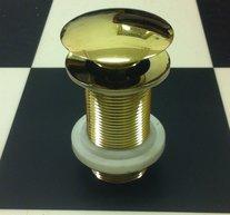 Pop-up ventil till keramikhandfat mässing